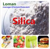 침전된 실리카 Sio2 의 산업 급료 이산화 실리콘 원료 순수한 이산화 실리콘