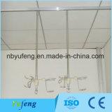 L'hôpital de haute qualité en acier inoxydable et aluminium Rail de perfusion