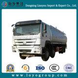Sinotruk HOWO 8X4 석유 탱크 트럭 25000L 연료 트럭
