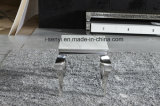 Закаленное стекло сверху диван из нержавеющей стали таблица со стороны Франции в конце таблицы таблица консольного стола гостиной мебели
