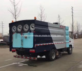 Dongfeng 4X2 진공 스위퍼 높은 비용 능률적인 먼지 흡입 트럭