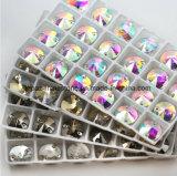 El más nuevo coser en Rivoli cristalino de piedra cristalino cosen en el Rhinestone de cristal (el Interruptor-cristal)