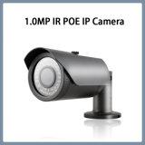 câmera de rede da segurança do CCTV da bala do ponto de entrada IR do IP 1.0MP