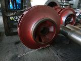 Horizontale motorangetriebene mehrstufige städtische Abwasser-Dieselpumpe