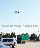 Iluminação ao ar livre mastro elevado galvanizado Pólo