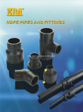 HDPE Kolben-Schweißen HDPE, das den 90 Grad-Krümmer befestigt
