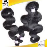 Волосы объемной волны перуанских человеческих волос девственницы