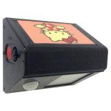 Тела солнечной энергии индукционные небольшой настенный светильник с пользовательскими печать