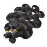 비 브라질 바디 파 100% 사람의 모발 직물 자연적인 색깔 Remy 머리 3PCS