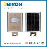 lámpara solar del camino de Aio del sensor de movimiento 8W