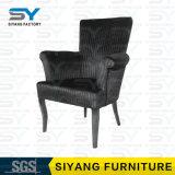 Cadeira de jantar de couro da cadeira do fantasma da cadeira do braço de China da mobília do hotel