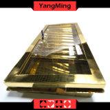 Яркий Золотой Металлический лоток для стружки в покер казино таблица лоток Chip (YM-CT13)