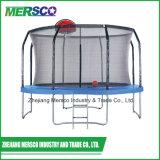 Mersco Outdoor Grand trampoline avec panier de basketball