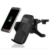 Qi Wireless Charger Fast Charging Car Station Holder 또는 Mount Smart Phone (W8)