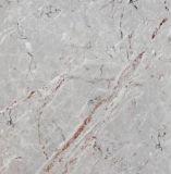 De hoge Glanzende Bruine Marmeren Tegel 60X60 van de Vloer van het Porselein van het Ontwerp Volledige Opgepoetste