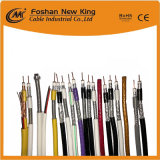 75 ohms RG11 RG6 Caoxial câble RG59 avec le meilleur prix et de bonne qualité