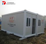 새로운 발육된 섬유유리 조립식 집 콘테이너 FRP 돔 집