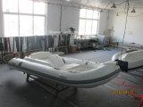 рыбацкой лодки рыбацкой лодки стеклоткани 4.3m шлюпка нервюры малой малая