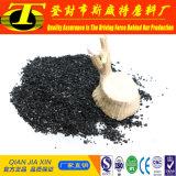 Большая раковина кокоса поверхностной области основала активированный уголь