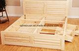 Festes hölzernes Bett-moderne doppelte Betten (M-X2290)