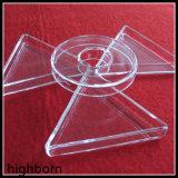 ТеплостойкmNs сплавленный ясный подогреватель лотка стекла кварца