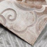 Sensibilità morbida lavorata a maglia floreale del tessuto 2018 nel colore del Brown (YN008-6)