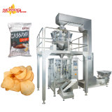 La banane automatique de tortillas de maïs ébrèche la machine de conditionnement de chips de pommes chips