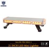 Hoogste Amber LEIDENE van het aluminium MiniLightbar (tbg-506l3-4C)