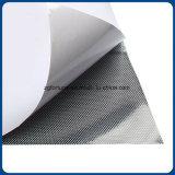 Pellicola del PVC del getto di inchiostro con adesivo per stampa del getto di inchiostro/vinile/visione unidirezionale per la parete di vetro