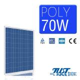 Painel solar poli chinês do produto 75W com poder pleno