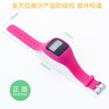 Manual para o podómetro, bracelete esperto Tw64