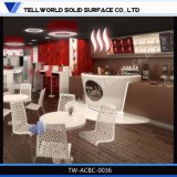 現代デザインアクリルのレストランのカフェテリア棒カウンター