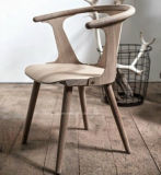 Moderne Gaststätte-Esszimmer-Möbel-hölzerner speisender Stuhl