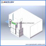 Une plus grande cabine de peinture de véhicule de volume de l'air avec le ventilateur d'extraction de l'air 7.5kw