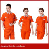 Custom Made Short Sleeve Work Garments for Summer (W28)