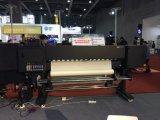 Le pigment de l'impression de la machine avec 3 chef Xaar6-20301201 de 1,8 m de largeur X X