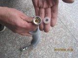 Pipe en plastique de bidet de ressort, boyau de bidet d'unité centrale de toilette