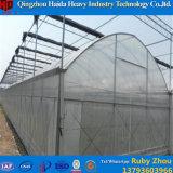 Estufa plástica do túnel do baixo custo para a agricultura