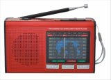 Radio portatile delle fasce FM/AM/SW1-7 9 con USB/TF/Rechargeable/Bluetooth