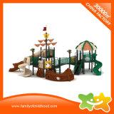 Equipos de juego de plástico barato tubo galvanizado para niños