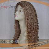 Venta caliente llena los encajes de cabello virgen rubia peluca (PPG-L-01330)