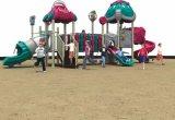 Оборудование занятности спортивной площадки парка атракционов напольное