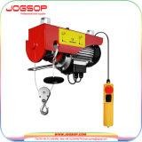 휴대용 전기 호이스트 400kg & 220V 50 60Hz 의 소형 전기 철사 밧줄 호이스트