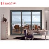 Meilleure vente de produits en verre feuilleté pour salle de séjour de porte en aluminium