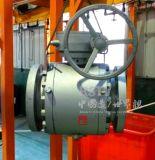 Valvola a sfera piena forgiata della flangia della porta 3PC del acciaio al carbonio