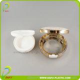 contenitore compatto dorato delle estetiche 15g