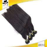 Partes brasileiras do cabelo humano da cor preta