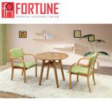 レストランの椅子および表(FOH-BCA59)を食事するハイエンド純木