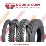 Pneu de moto/pneu, double pneu de moto de pièce de monnaie/pneu, moto sans chambre/pneu de tube, chambres à air de moto, pneu de scooter