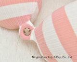 100% algodón a rayas U - Cuello tipo almohada / lenta de la memoria de rebote /proveedor chino